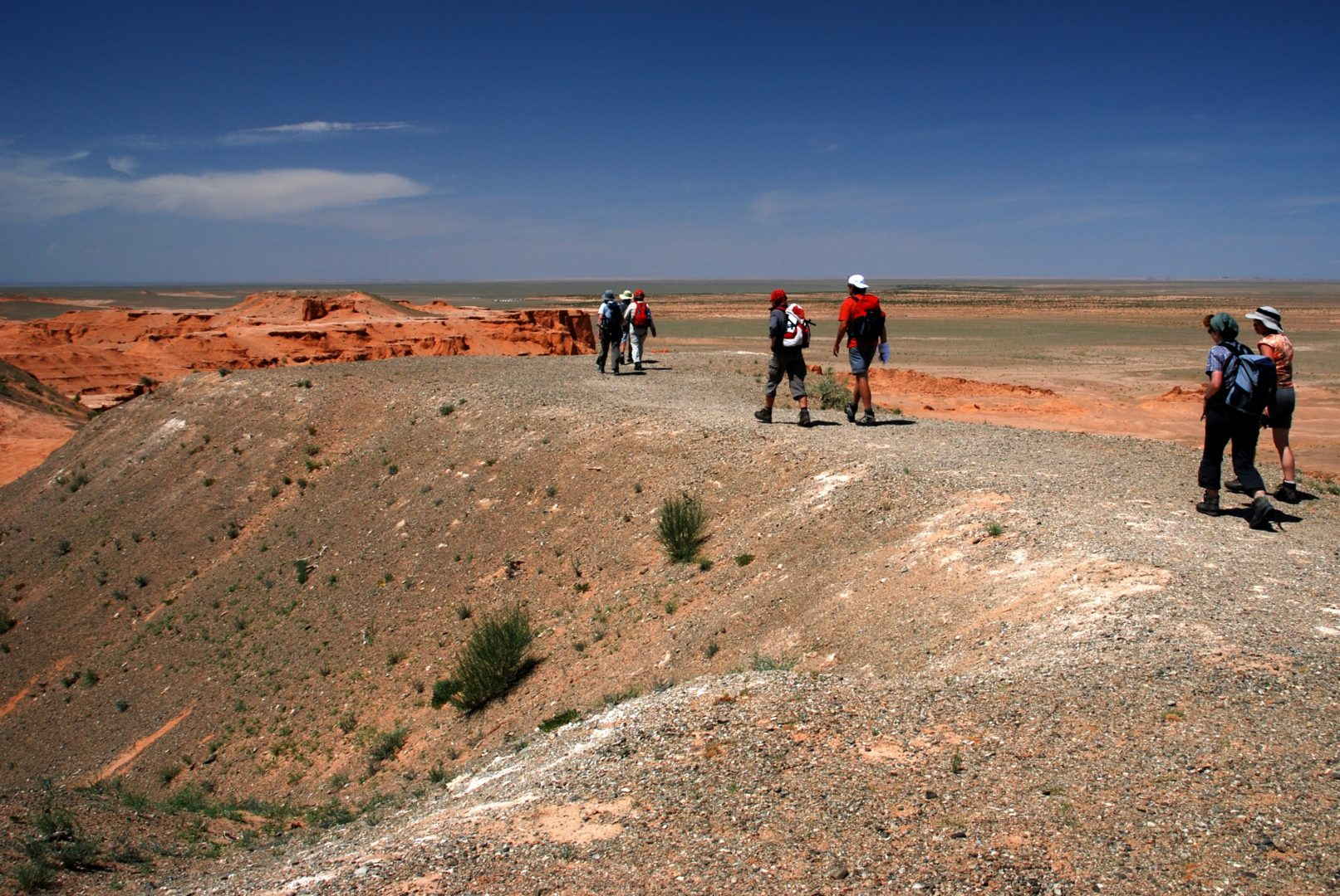Mongolei-Reise: Bayanzag