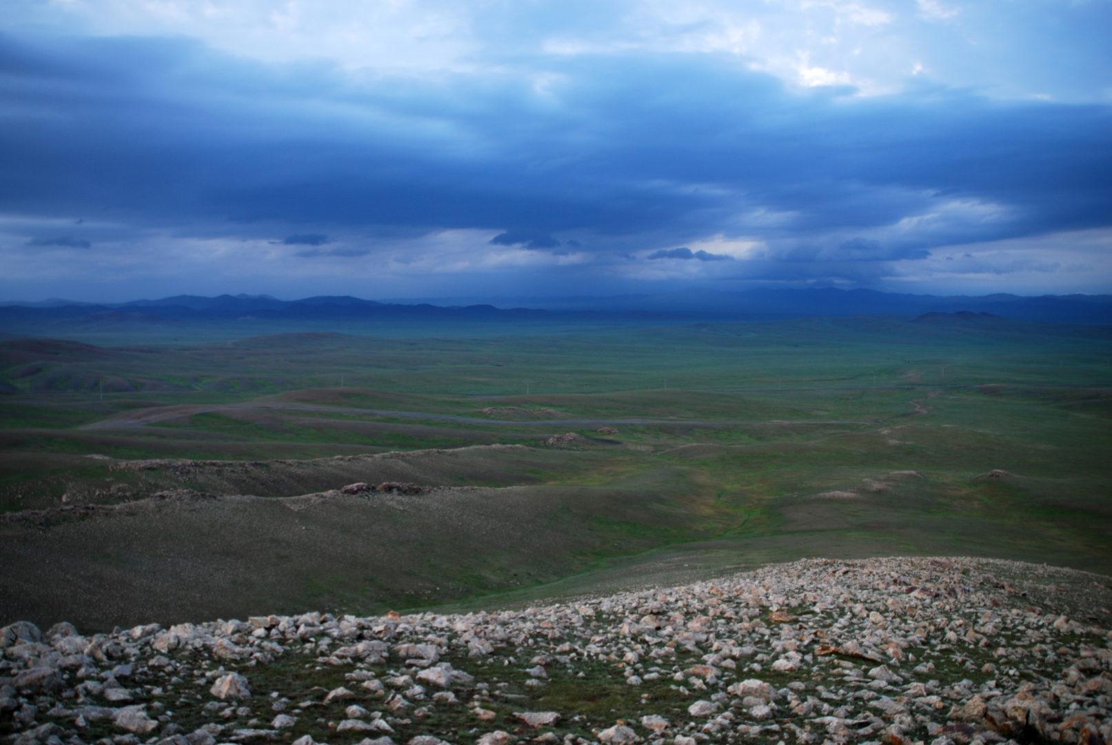 Endlose Steppe
