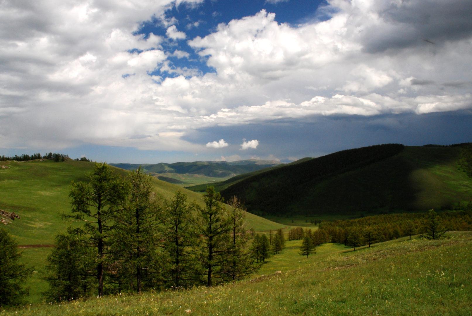 Der Norden der Mongolei