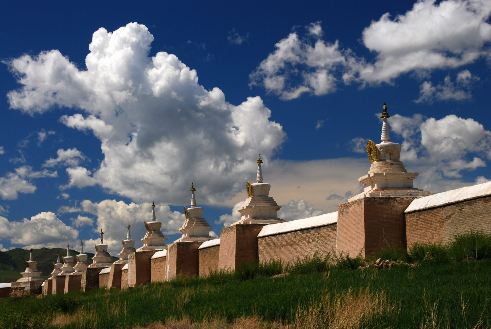 Mauer des Klosters Erdene-Zuu