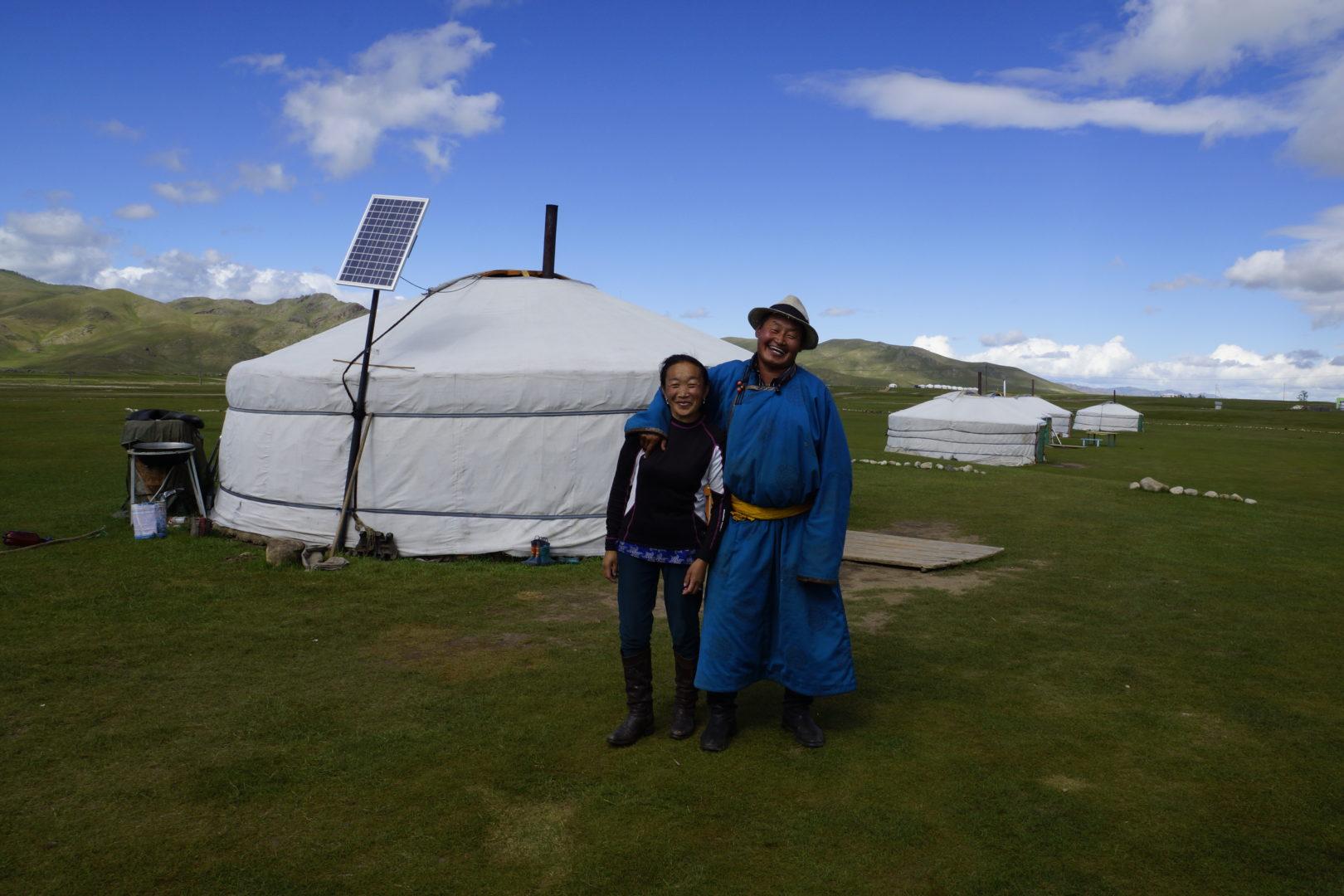 Mongolei Reisen: Nomaden