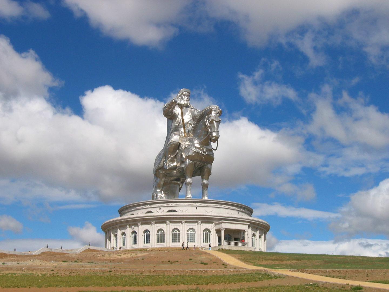 Reiterdenkmal Dschingis Khans
