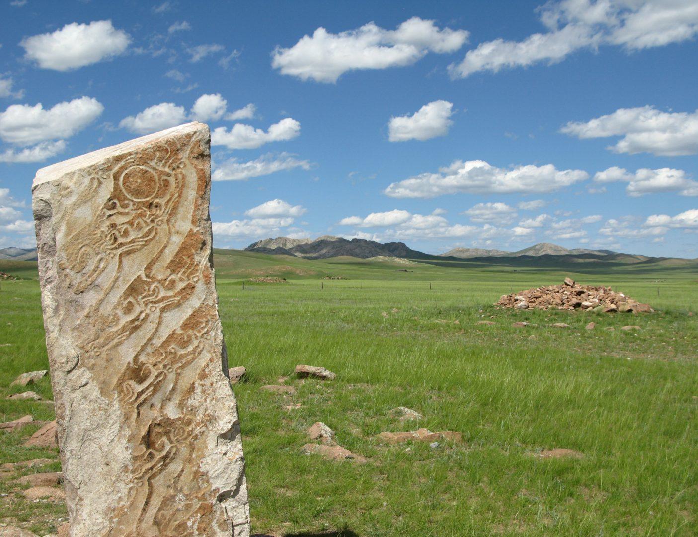 Mongolei-Reise, Steppe und Taiga: Felsmalereien