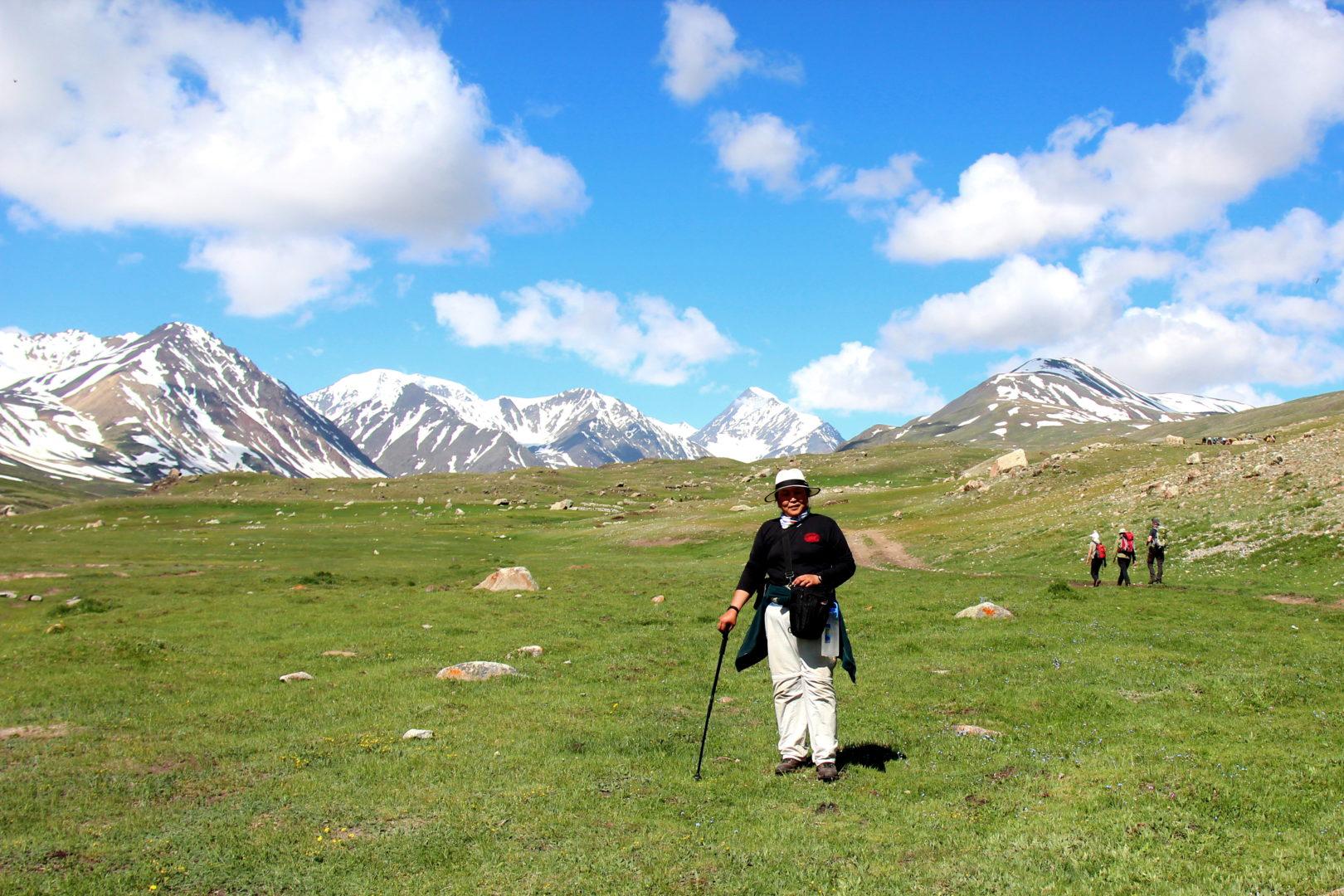 Mongolei-Reise: Wanderung am Altai-Gebirge