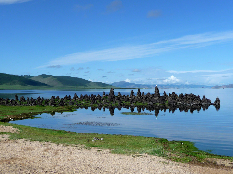 Mongolei-Reise, Steppe und Taiga: Terchin-Zagaan-See