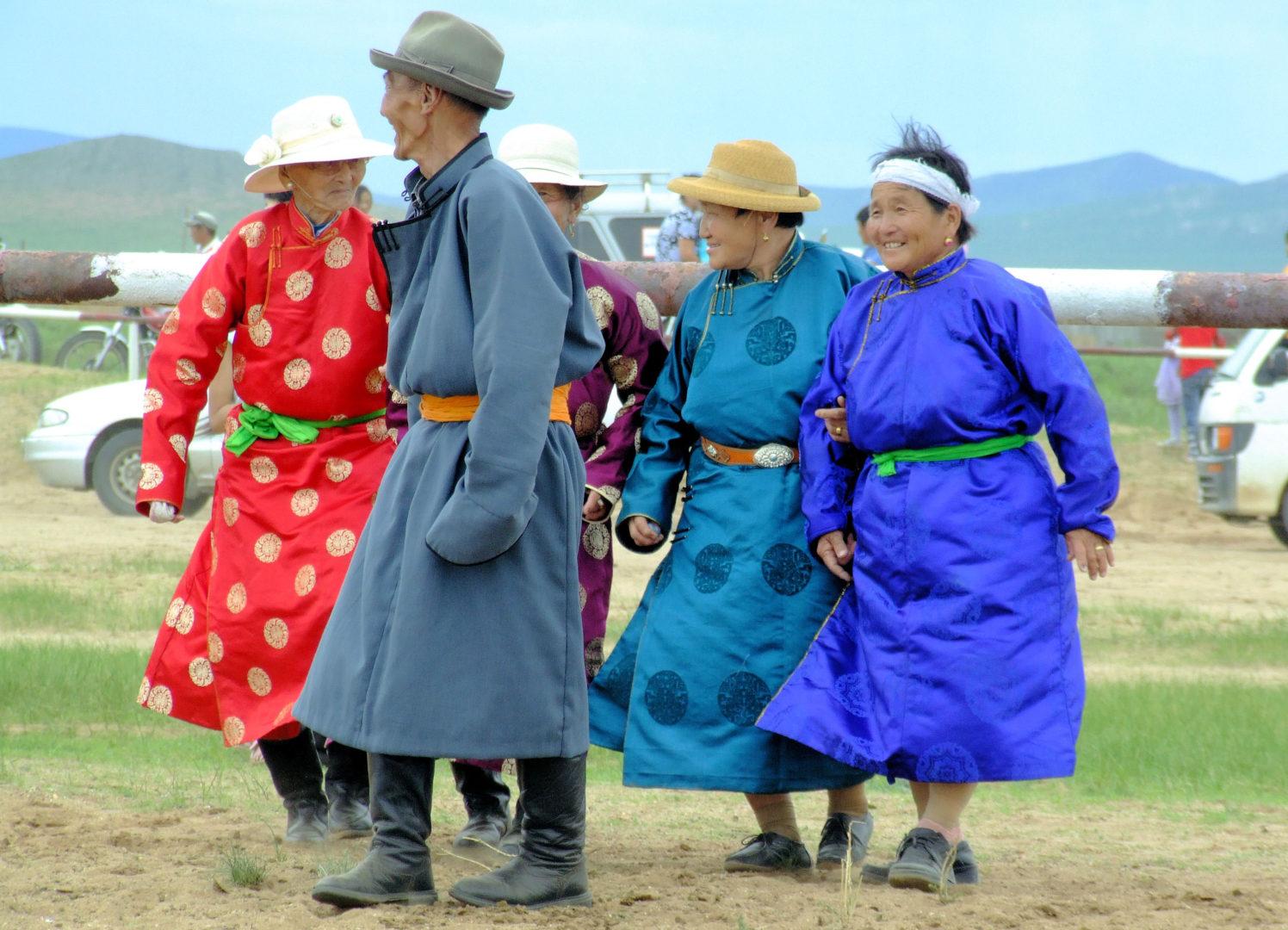 Deel - mongolische Tracht