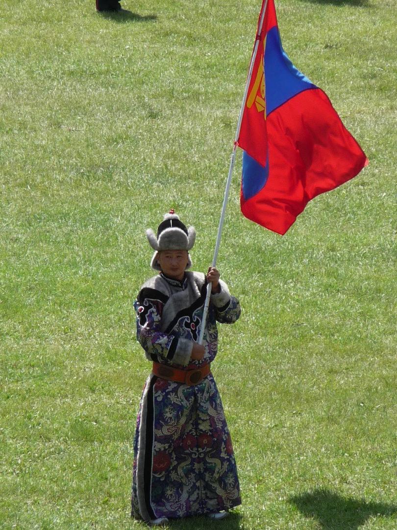 Mongolische Flagge