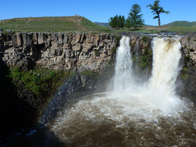 Ulaan-Wasserfall, Orchon