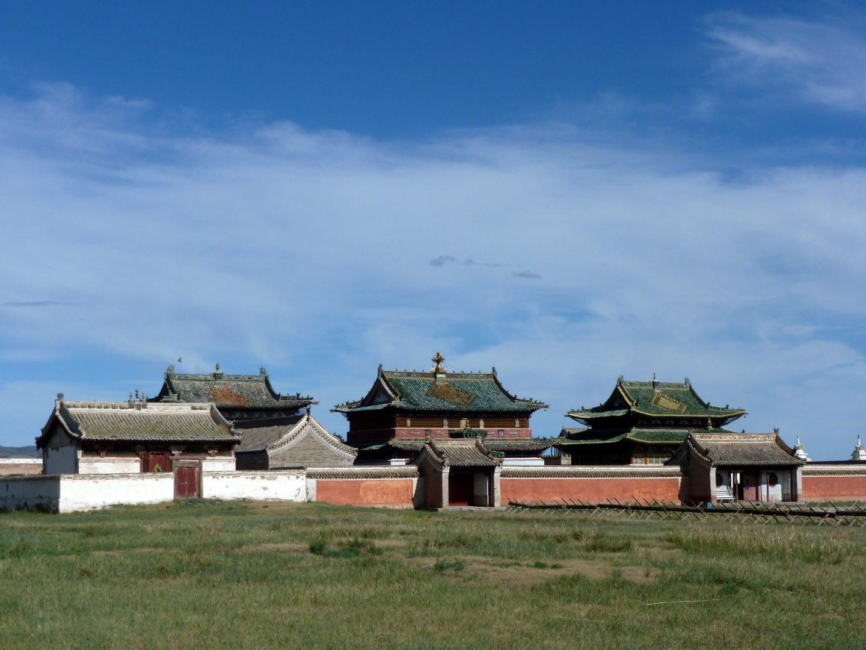 Museumsteil des Klosters Erdene-Zuu