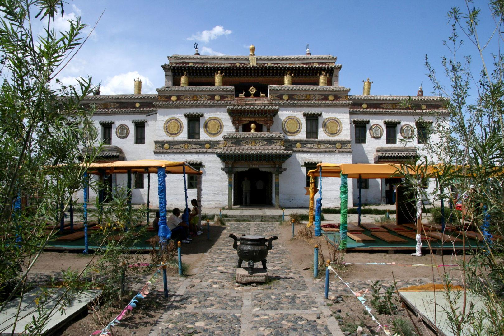Tempel in tibetischen Stil