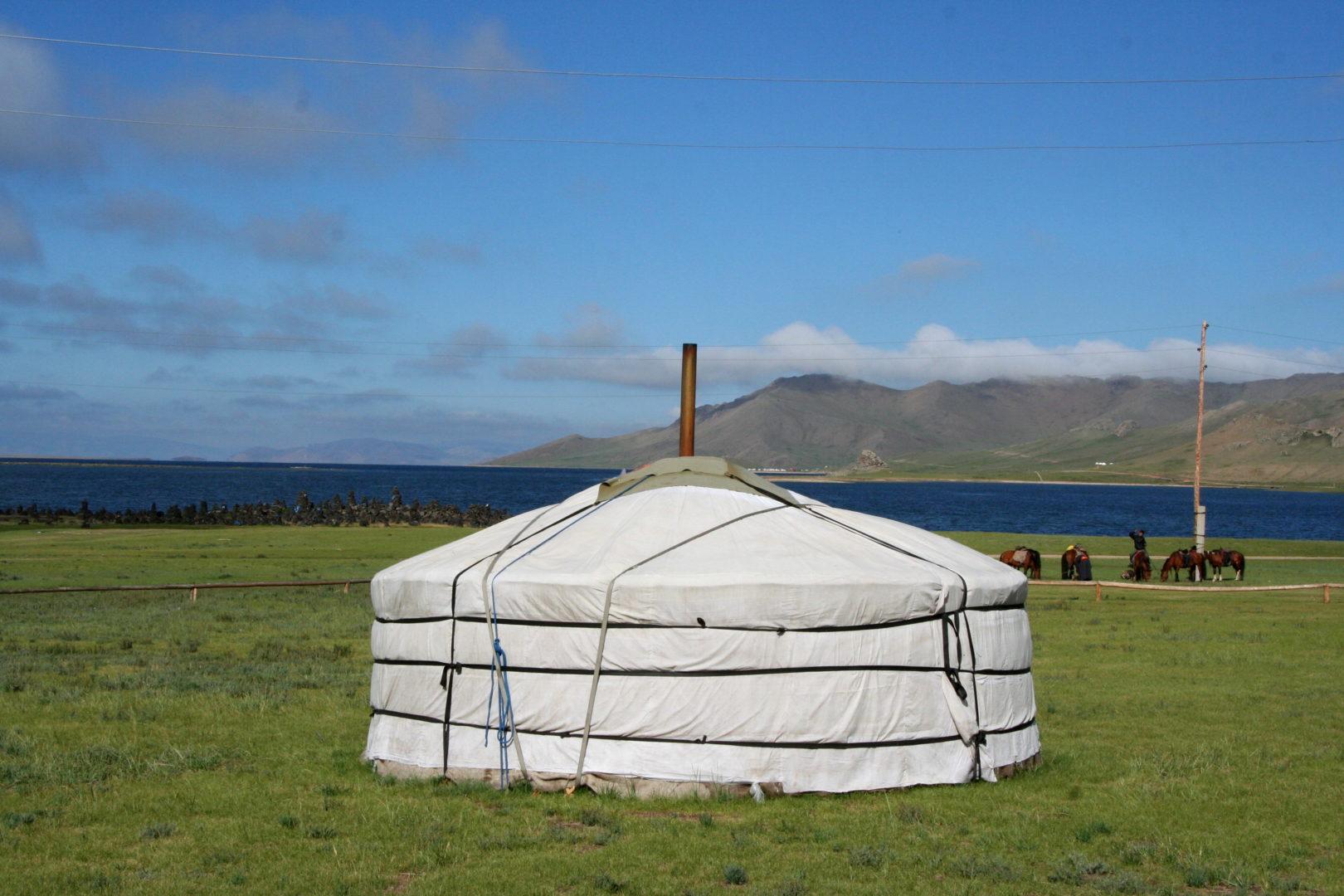 Jurte - Behausung der Nomaden