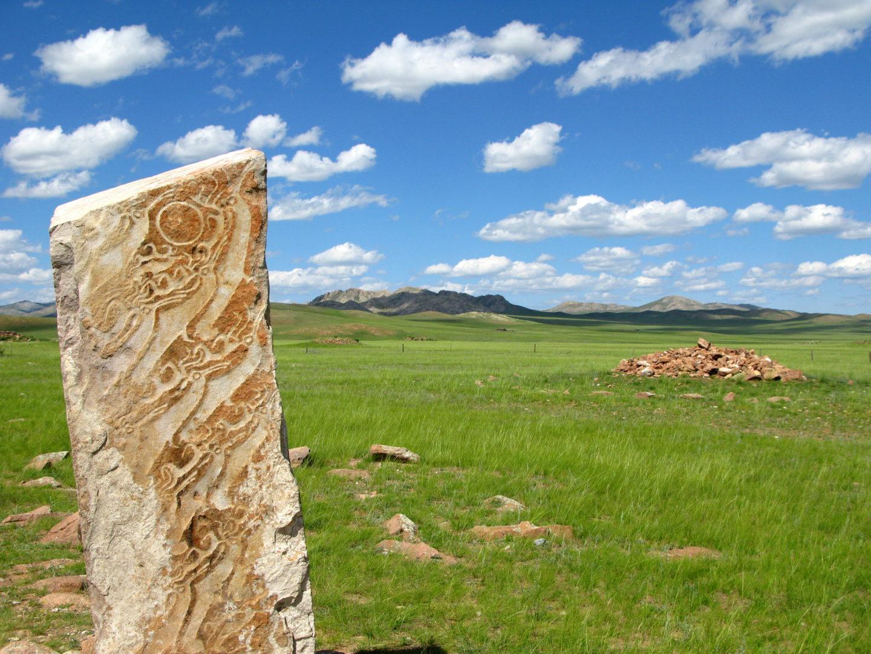 Mongolei-Reise: Felsmalereien
