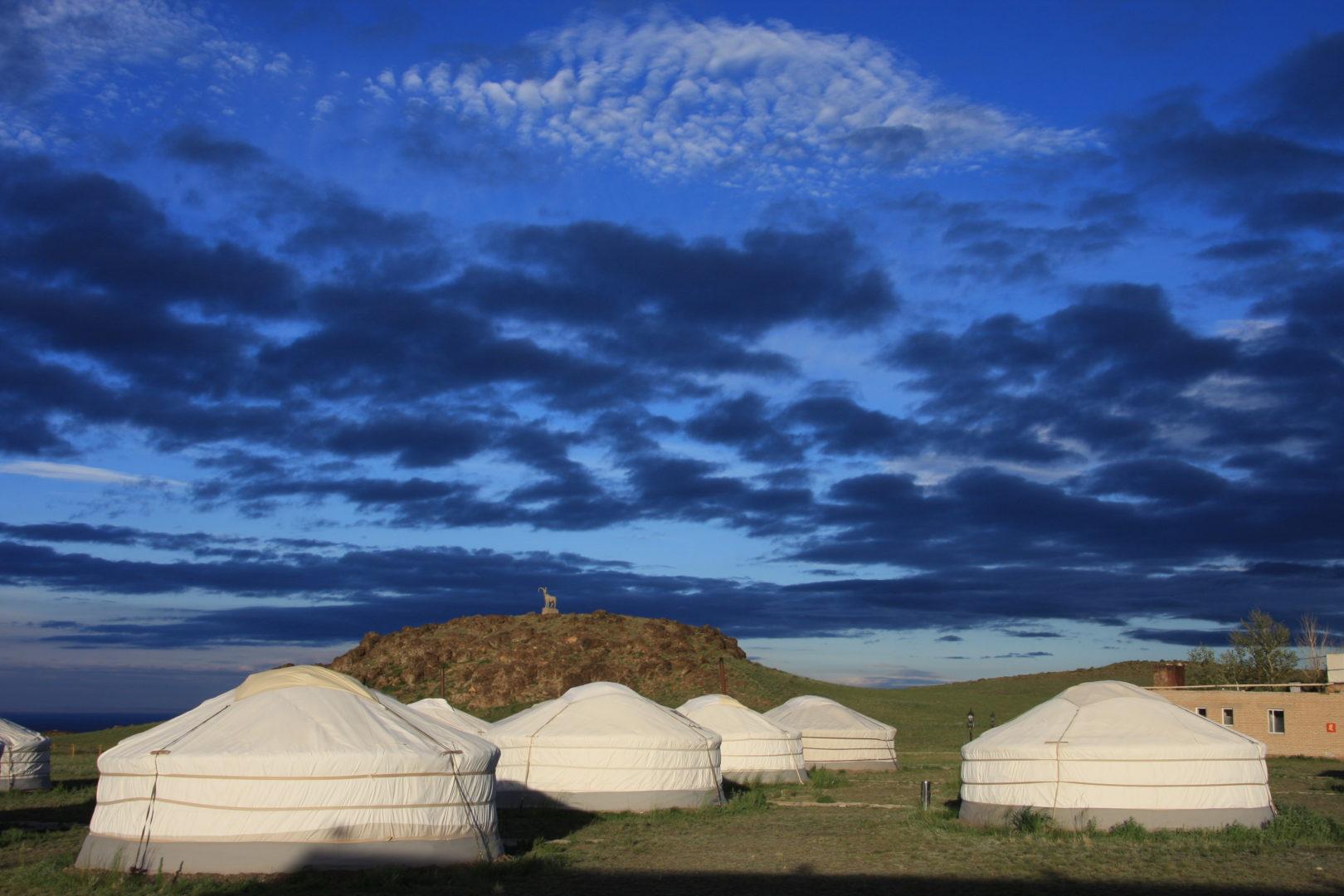 Große Mongoleireise: Jurtencamp