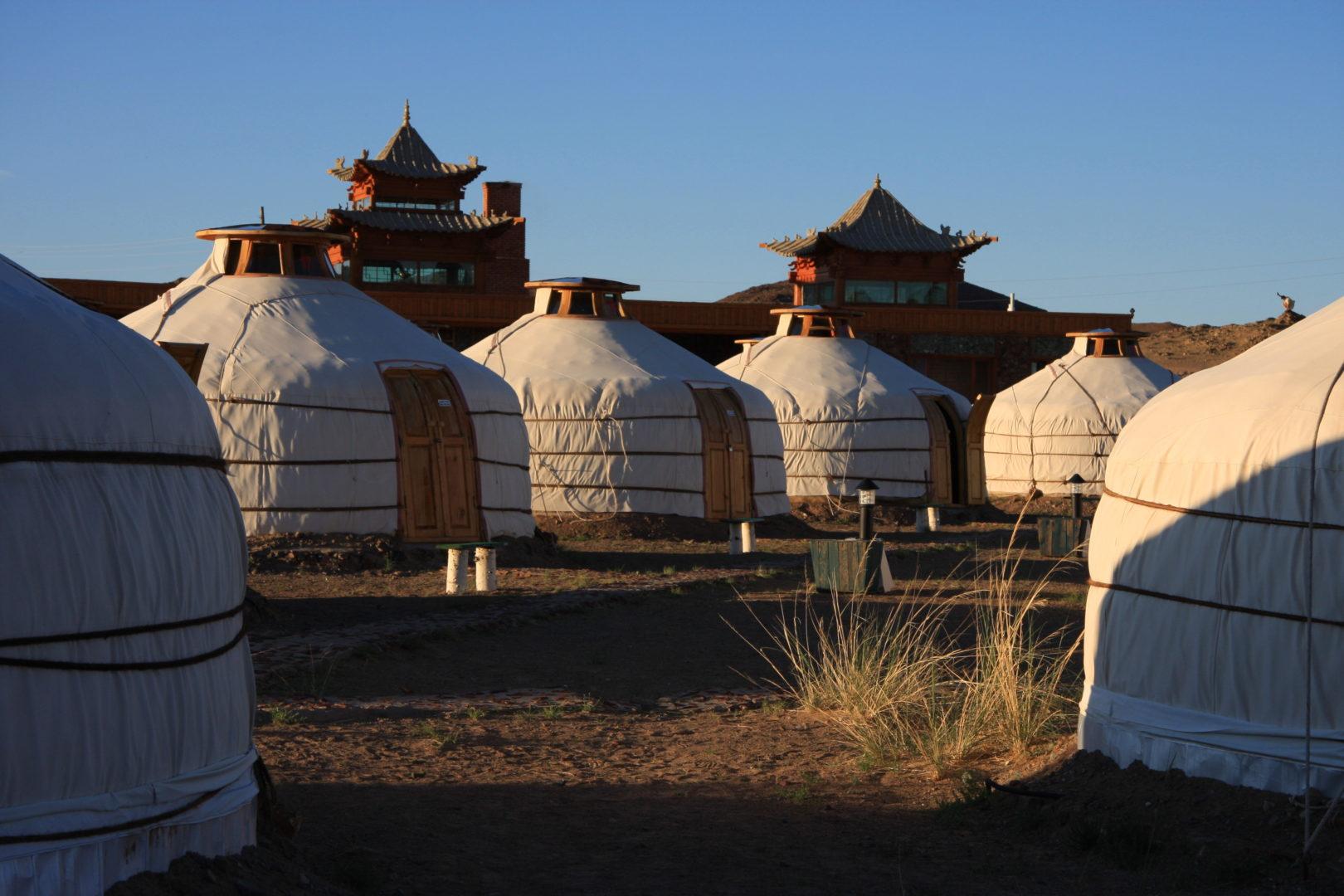 Mongolei-Reise: Jurtencamp