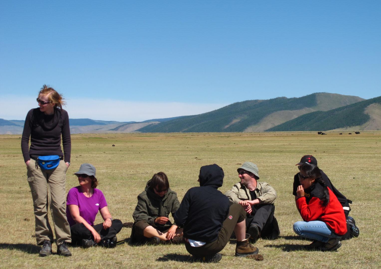 Pause in der Wüste Gobi