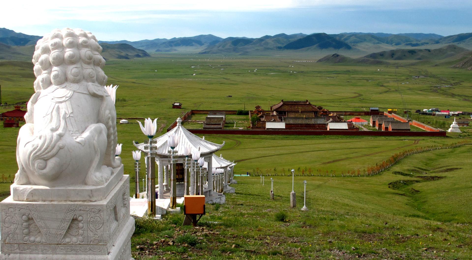 Große Mongoleireise: Amarbayasgalant Kloster