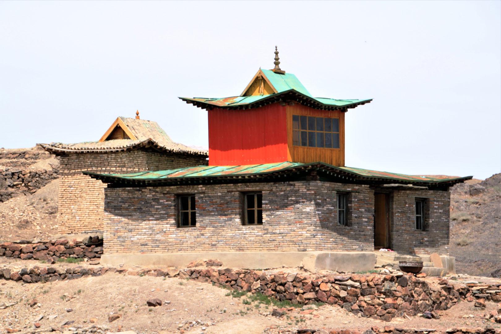 Tempel in der Wüste Gobi