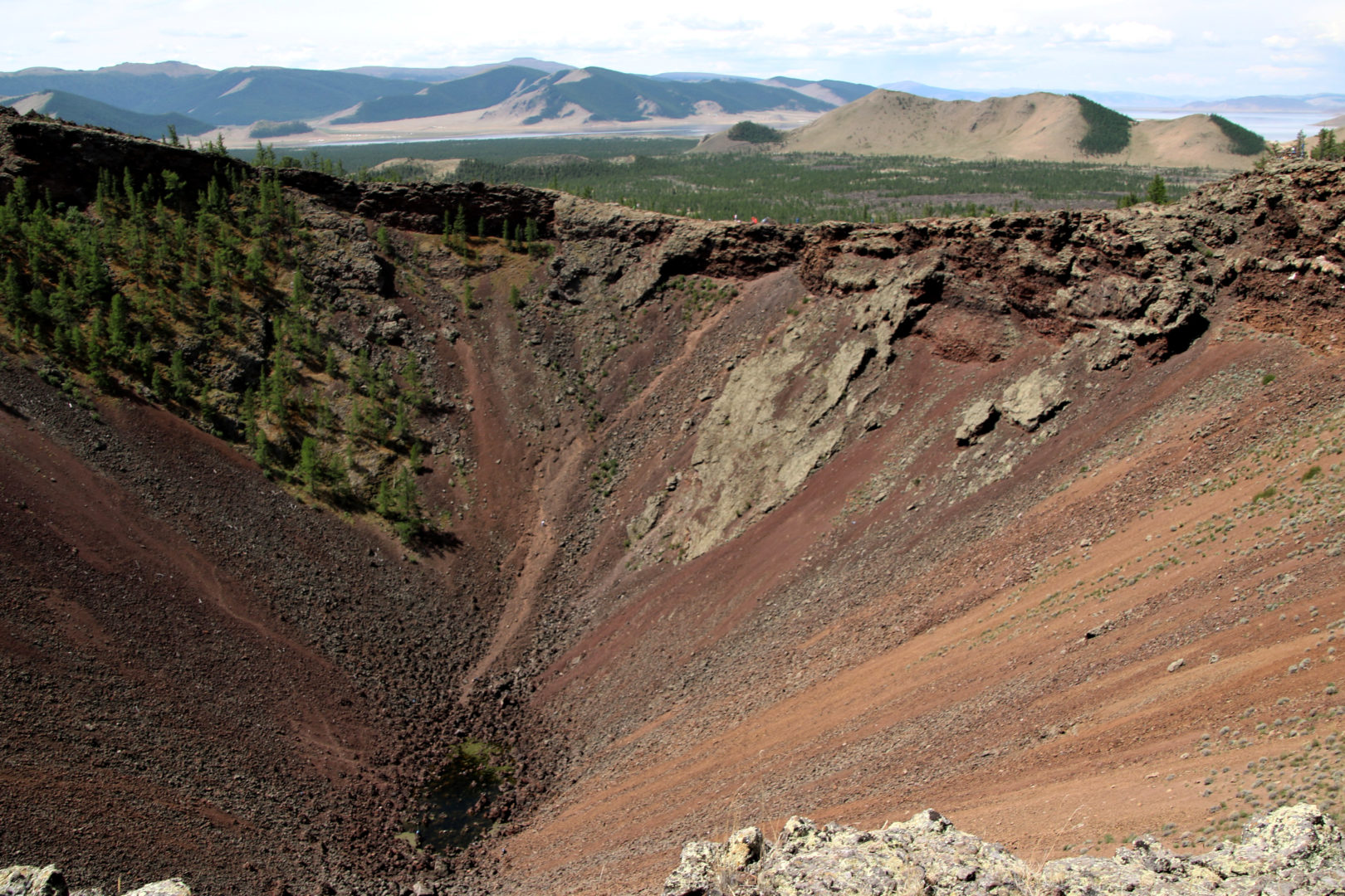 Erloschener Vulkan Chorgo