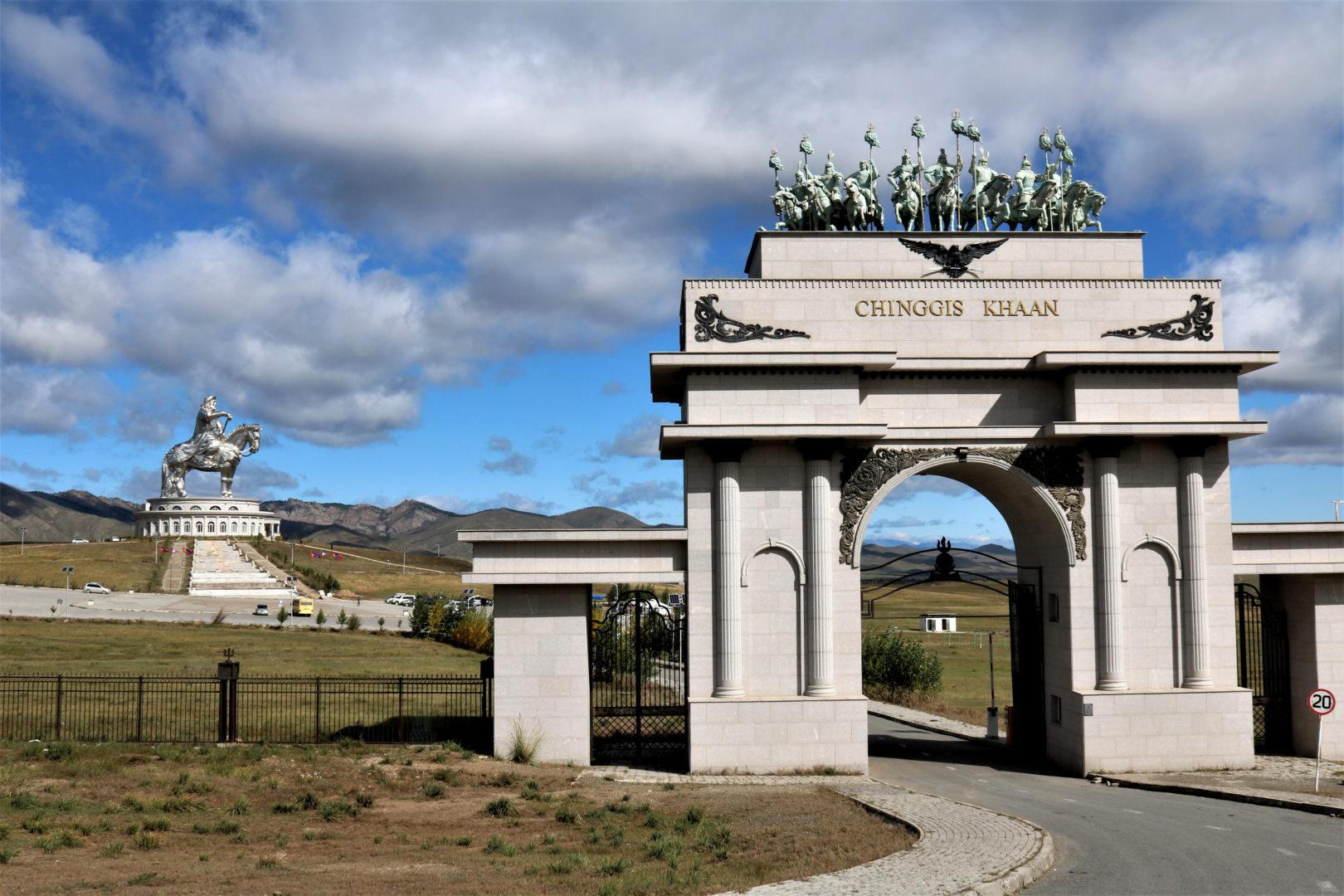 Tsonjin Boldog: Reiterdenkmal Chingis-Khans