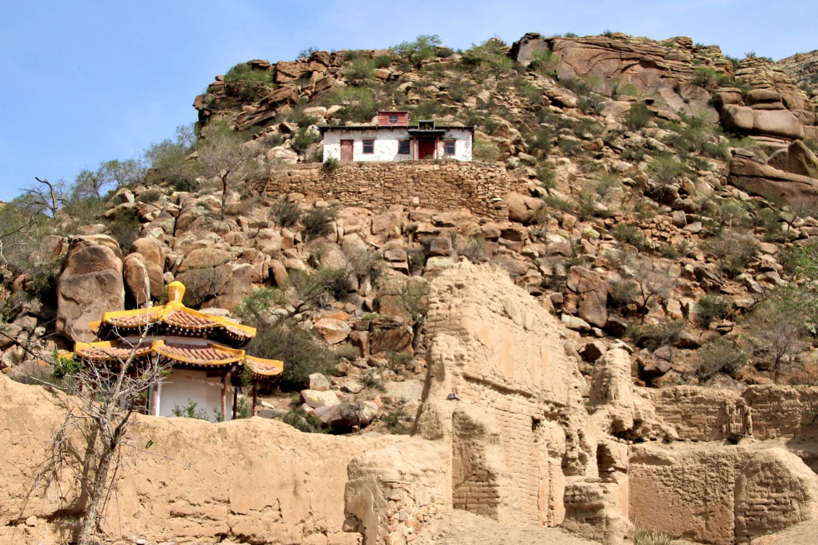 Tempel in der Zentralmongolei