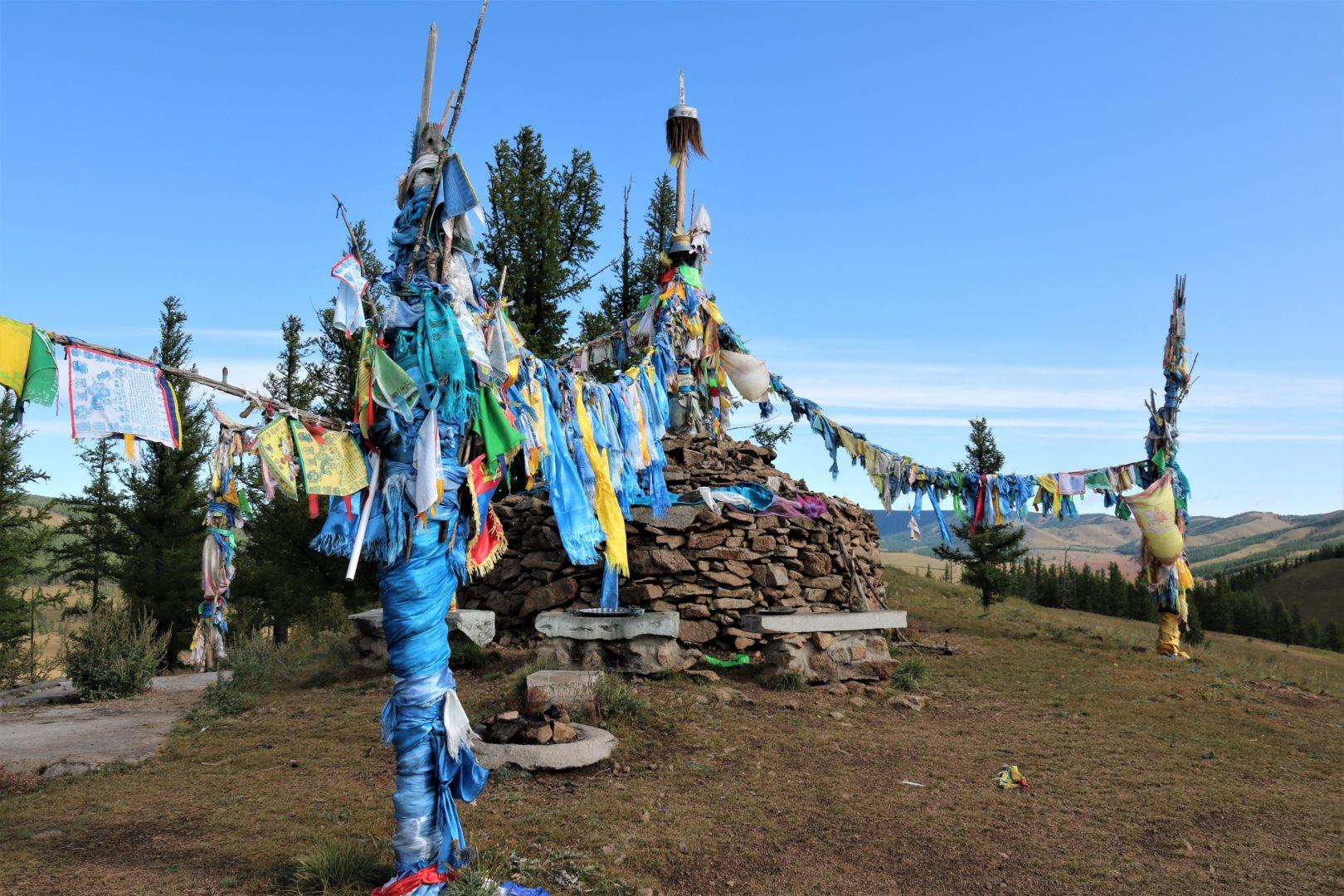 Mongolei Reisen: Ovoo