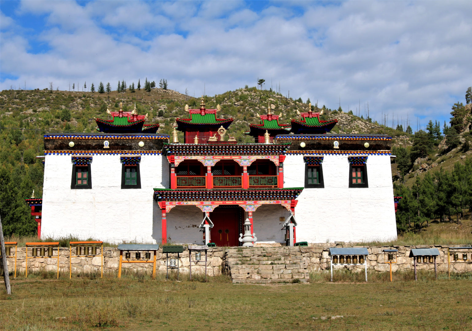 Tempel im Osten der Mongolei