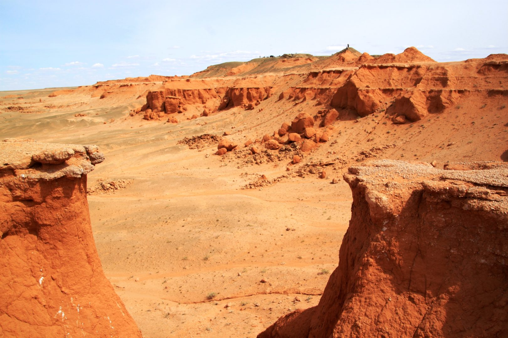 Wüste Gobi: Bayanzag - Flaming Cliffs