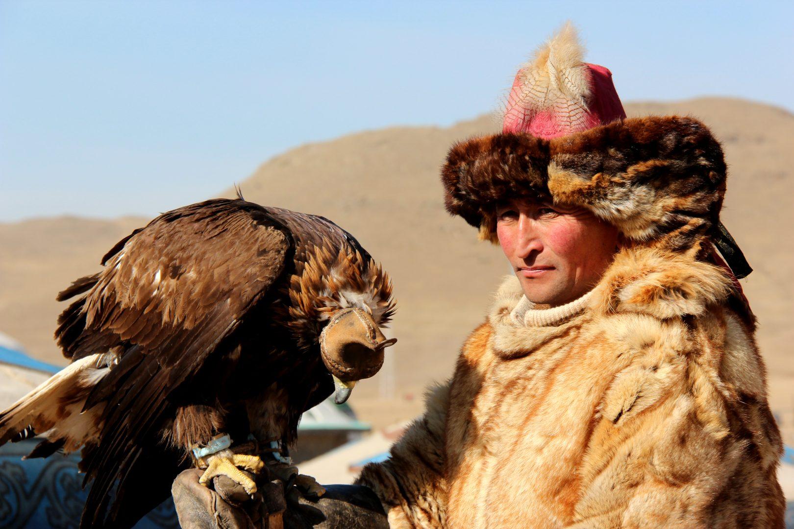 Mongolei-Reise: Adlerfest am Altai